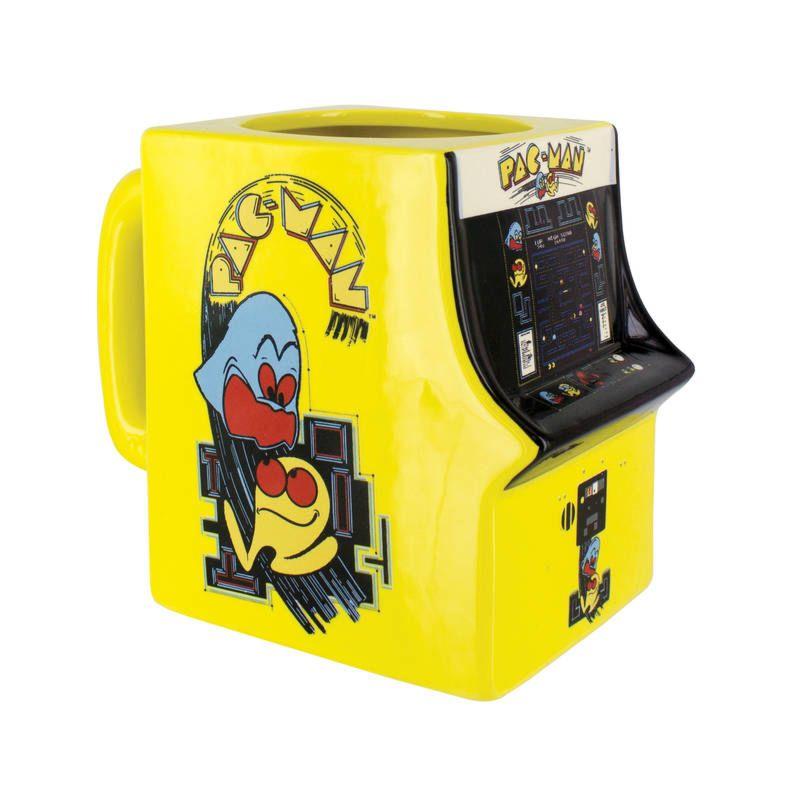 Pac Man Machine >> Pac Man Machine Sculpted Mug Shop Retro Active