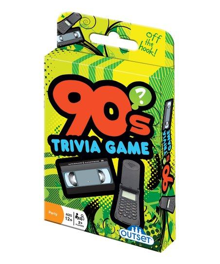 90s Trivia Card Game