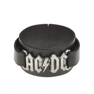 ACDC Leather Wristband