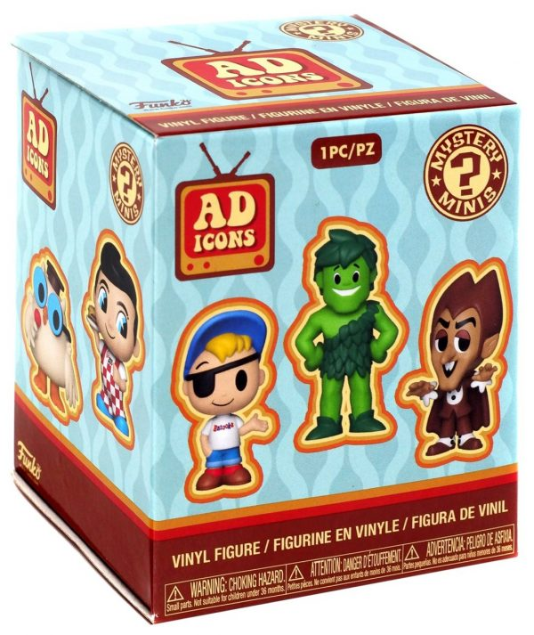 Ad Icons Funko Mystery Minis