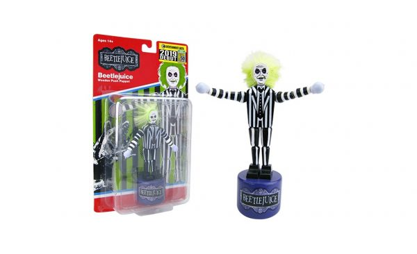 Beetlejuice Wooden Push Puppet