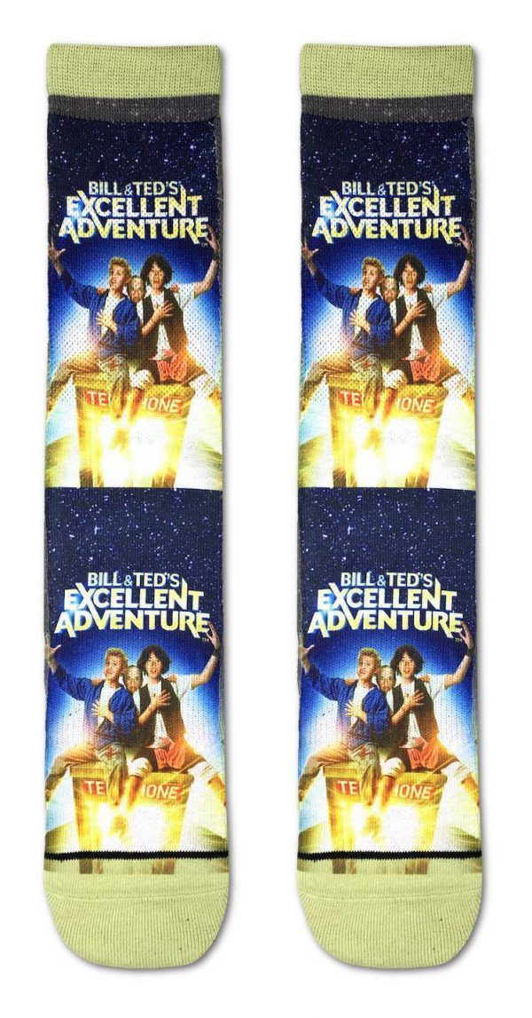 Bill and Ted's Excellent Adventure Socks
