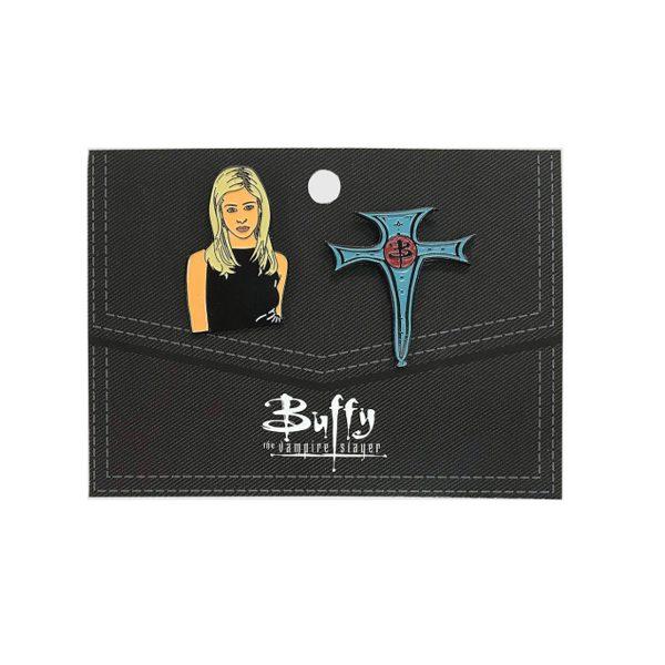 Buffy the Vampire Slayer Lapel Pin Set