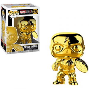 Captain American Gold Funko Pop Vinyl