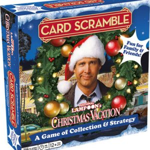 Christmas Vacation Card Scramble
