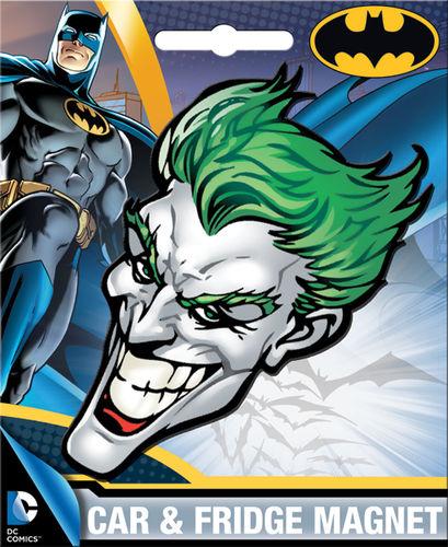 DC Joker Car Magnet