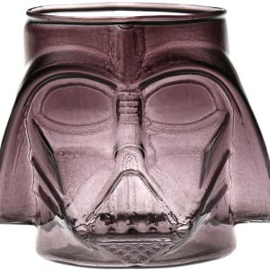 Darth Vader Gray Molded Glass