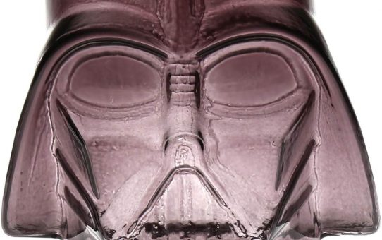 Star Wars Darth Vader Gray Molded Glass