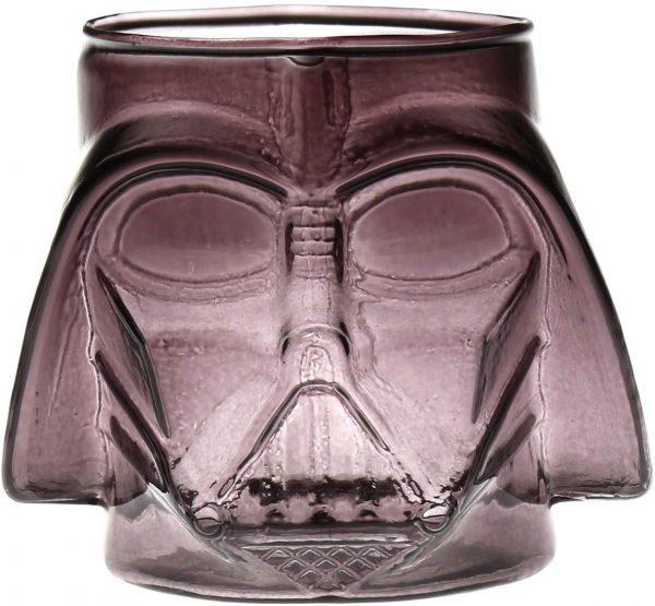 Darth Vader Gray Molded Glass