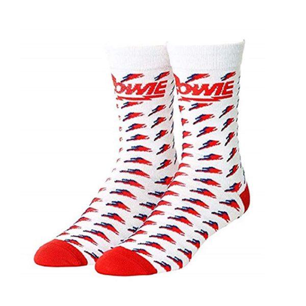 David Bowie Bolt Socks