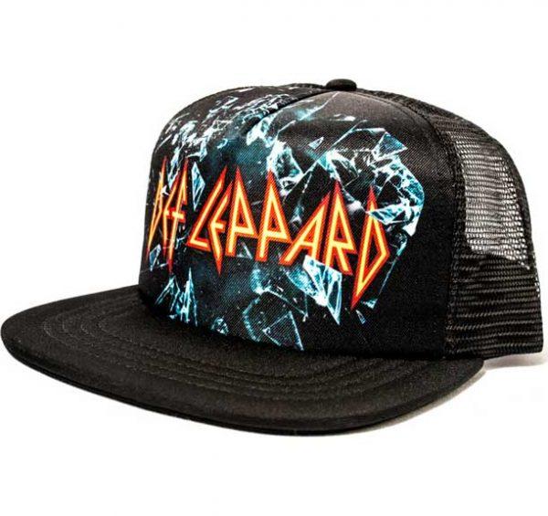 Def Leppard Trucker Hat