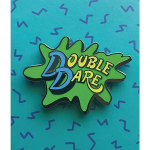 Double Dare Logo Lapel Pin