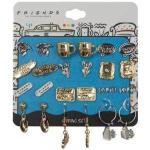 Friends 12pc Earrings