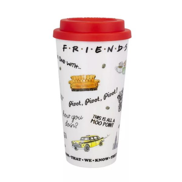 Friends Icons Travel Mug