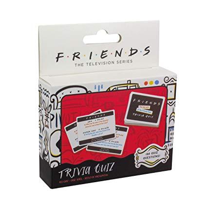 Friends Trivia Cards