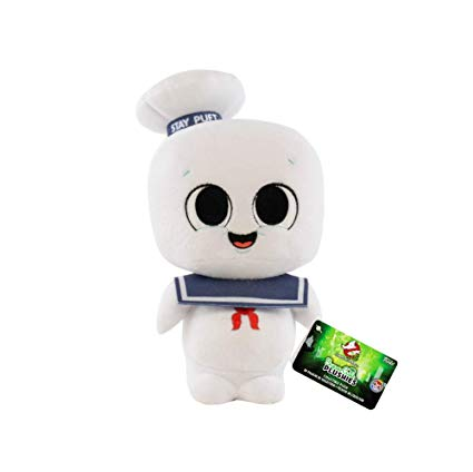 Ghostbusters Stay Puft Plushy