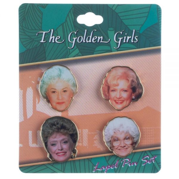 Golden Girls 4pk Lapel Set