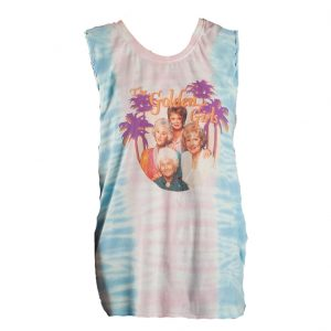 Golden Girls Tye Dye Braided Tank