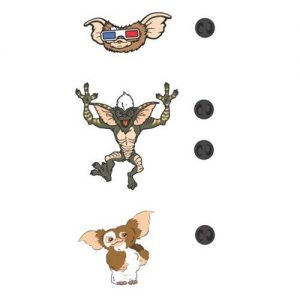 Gremlins 3pc Lapel Pin Set