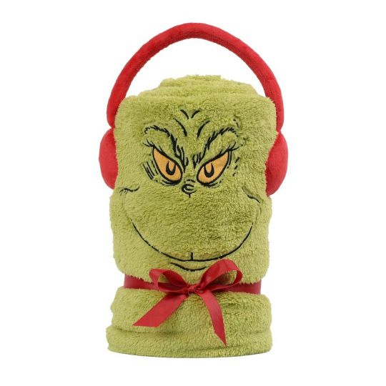 Grinch Plush Blanket