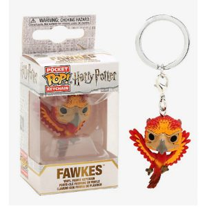 Harry Potter Fawkes Funko Keychain