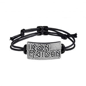Iron Maiden Cord Bracelet