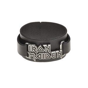Iron Maiden Leather Wristband