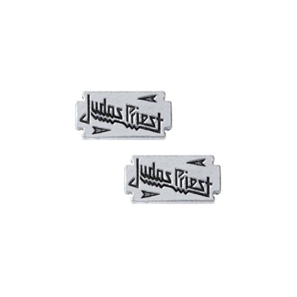 Judas Priest Razorblade Stud Earrings