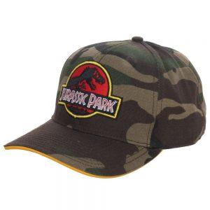 Jurassic Park Camo Hat