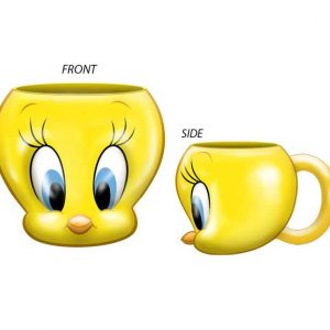 Looney Tunes Tweety Bird Molded Mug