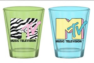 MTV 4pc Shot Glass Set