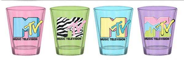 MTV 4pc Shot Glass Set