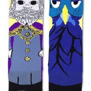 Mister Rogers King Friday Socks