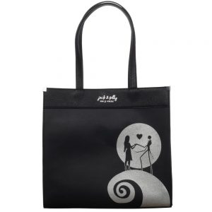 Nightmare Before Christmas Silver Tote Bag