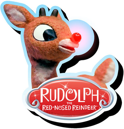 Rudolph Chunky Magnet