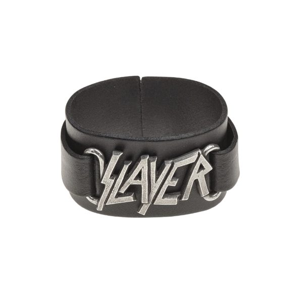 Slayer Leather Wristband