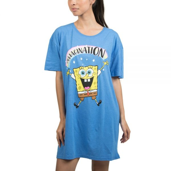 Spongebob Squarepants Oversized Sleep Shirt