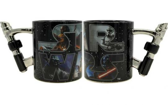 Star Wars 3D Light Saber Mug