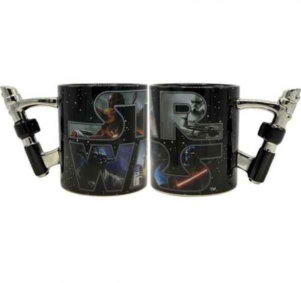 Star Wars 3D Light Saber Mug