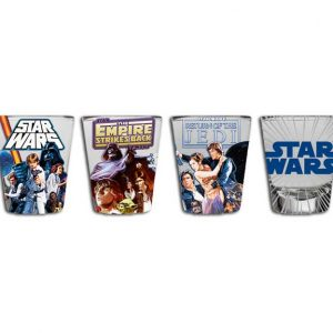 Star Wars 4pc Shot Glass Set
