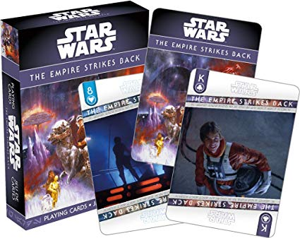 Star Wars Empire Strikes Back Playing Cards