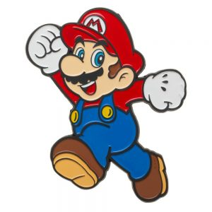 Super Mario 3inch Lapel Pin