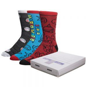 Super Mario 3pk Console Gift Box