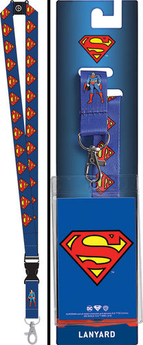 Superman Lanyard