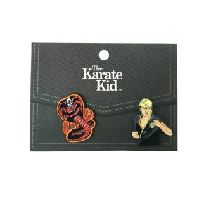 The Karate Kid 2pc Lapel Pin Set