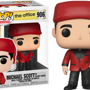 The Office Santa Bond Funko Pop Vinyl