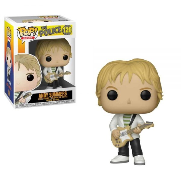 The Police Andy Summers Funko Pop Vinyl