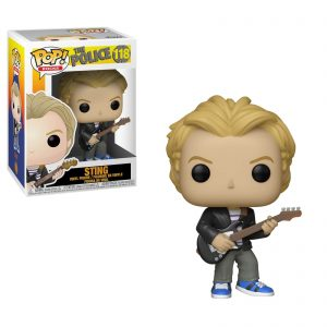 The Police Sting Funko Pop Vinyl