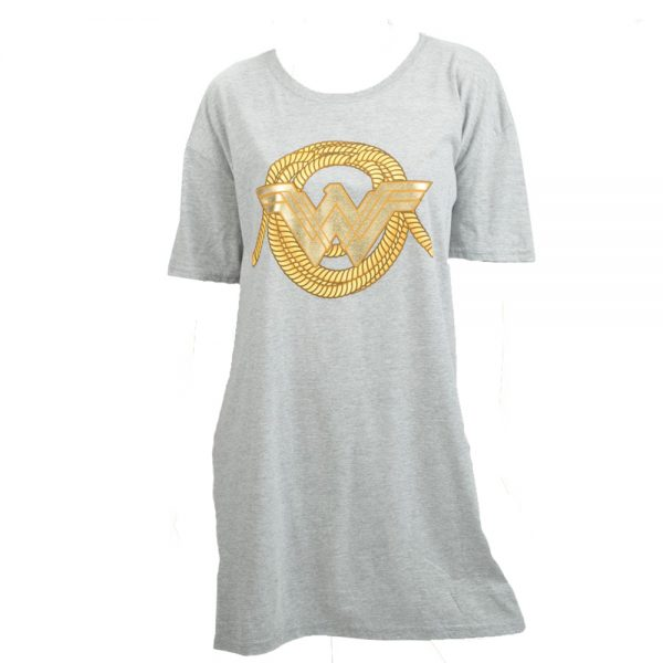 Wonder Woman Oversized Sleep Shirt