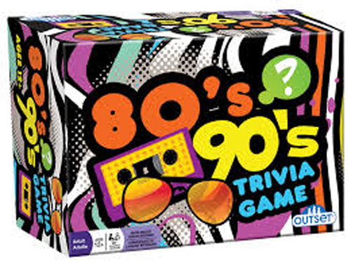 80s & 90s Trivia Game